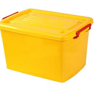 صندوق چرخدار زرد کد 207_1