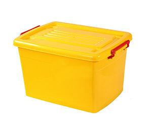 صندوق چرخدار زرد کد 208
