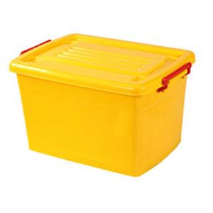 صندوق چرخدار کد 204 زرد