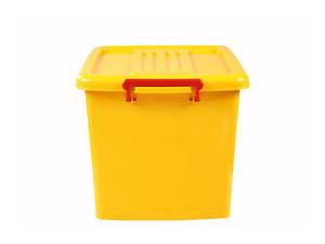 صندوق چرخدار کد 204 زرد3