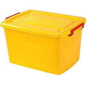 صندوق چرخدار کد 206 زرد
