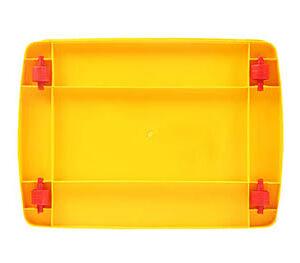 صندوق چرخدار کد 206 زرد_3
