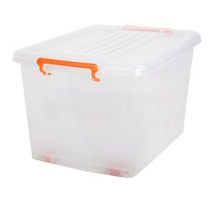 صندوق چرخدار کد 207 شفاف