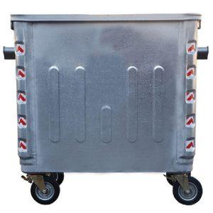 مخزن زباله فلزی