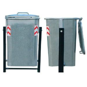 سطل زباله شهری گالوانیزه