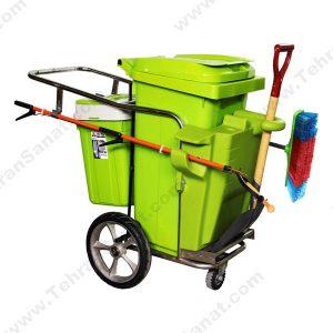 گاری جمع آوری زباله