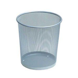 سطل زباله اداری فلزی توری کوچک